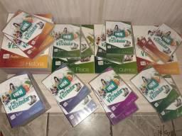 Livros e DVD's de estudo para o enem
