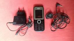 Nokia 2 chip carregador e fone