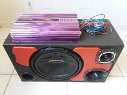 Urgente! Caixa Trio Pioneer 311 + Modulo Pyramid 800W