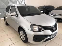 Etios Hatch X 1.3 com 15mil KM 2019 Impecável - 2019