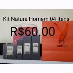 Natura homem kit 04 itens 60.00 mega promoção