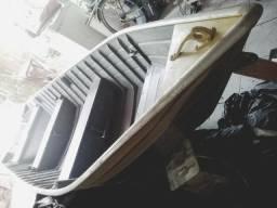 Lancha de Alumínio SuperFort com documentação em dia, nunca foi usada!