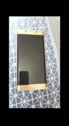 Samsung s6 edge Plus dourado semi novo barato