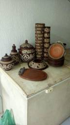 Vendo esse conjunto egípcios com 33 peças pra feijoada