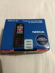 Celular Nokia X1-01 - kit com dois aparelhos