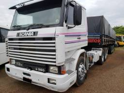 Scania 113 360 8 marchas truque - estudo trocas - 1993