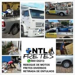 Fretes Urgentes, Reboque Moto, Retirada de Entulhos 985126312