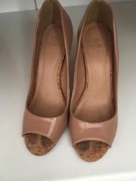 66f2c2dd1f Scarpin Nude My Shoes Tamanho 36