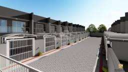 Casa geminada em condomínio fechado em rua sem saída. Entrega para Julho de 2021.