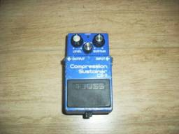 Pedal Compression Sustainer Cs-2 Boss Made In Japan + Manual Pdf
