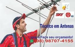 Antena - instalação , antenista