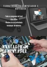 Formatação e Montagem de Computador/Notebook