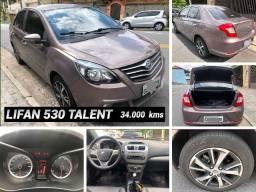 Lifan 530 Talent 2018 1.5 Vvt 16V 34 Mil Kms R 34.999,00 Ac Trcs Ford Ka Etios