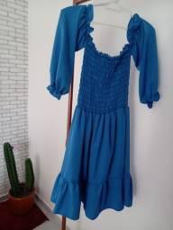 Vestido Rosa Azul