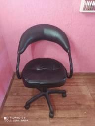 Cadeira de cabeleireiro com suporte para Sobrancelha