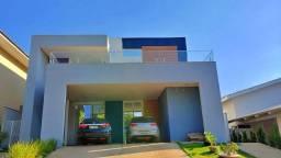 Sobrado 4 Suítes, 353 m² c armários e lazer no Condomínio Mirante do Lago