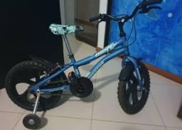 Bicicleta Infantil Aro 16 Houston Nic - Azul<br><br>