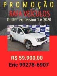 Duster 1.6 expression 2020 com mil de entrada - Eric -Rafa veículos
