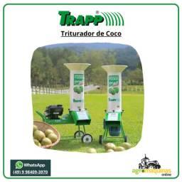 Triturador de Coco Trapp TRC-40 com Motor Eletrico Monofasico 220v/440v