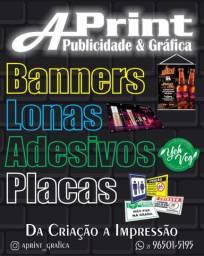 Banners - Lonas - Impressão Digital