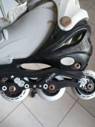 Roller Infantil Cinza