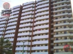 Apartamento com 3 dormitórios para alugar, 78 m² por R$ 1.800,00 - Parquelândia - Fortalez