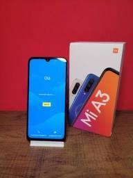 Título do anúncio: Xiaomi Mi A3 Azul 64gb e 4gb - em boas condições