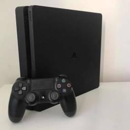 Título do anúncio: PS4 Slim 1tera