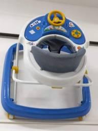 Título do anúncio: Andador Infantil Musical Com Regulagem Styll Baby 6 Rodas
