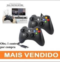 Controle Xbox 360 Com Fio / Pc