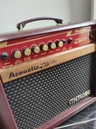 Título do anúncio: Amplificador Cubo Para Violao Meteoro Acoustic V40 W<br>