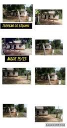 Título do anúncio: Terreno com casa mista de esquina no Iranduba