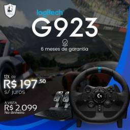 Volante Logitech G923 - Novo c/ Garantia