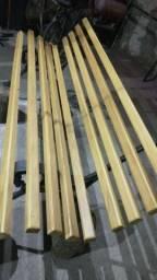 Vendo banco de ferro e madeira garapa