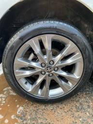 Título do anúncio: 4 pneus original do corolla, pireli p7