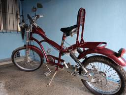 Linda bicicleta artesanal