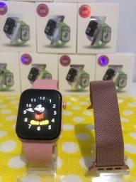 Título do anúncio: Relógio Original X8 +Série 7 Super Lançamento Ligação Notificações Fotos