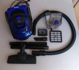 Título do anúncio: Aspirador de Pó Azul Preto 1400W Philco