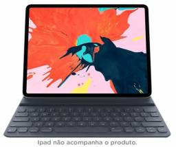 """Título do anúncio: Capa c/ Teclado Apple Folio para iPad Pro Tela 12,9"""" (3ª Geração), Nova, Caixa, Troco!"""