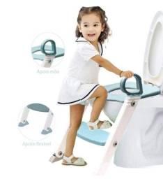 Título do anúncio: Troninho infantil Assento Redutor Vaso Sanitário Desfralde Escadinha