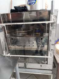 Título do anúncio: Vendo forno industrial com tampa de vidro