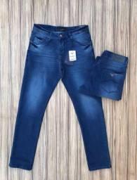 Calças jeans primeira linha