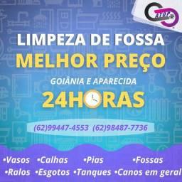 Título do anúncio: Limpa fossa em Goiânia, Aparecida e região.