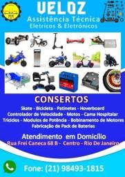 Conserto de mobilidade eletricos e eletrônicos