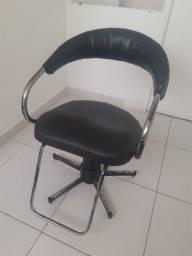 Cadeira hidraulica para salão de beleza