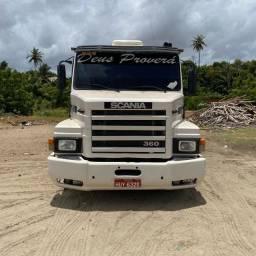 Título do anúncio: Cj Scania 113 H 360 1996 / Carreta Guerra 2001