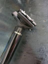 Canote hidráulico rock shox reverb 175 30,9 mm cabeamento interno.