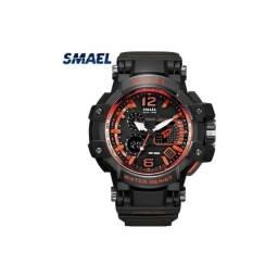 Título do anúncio: Relógio Smael 1545 Militar G Shock Prova D'água Original