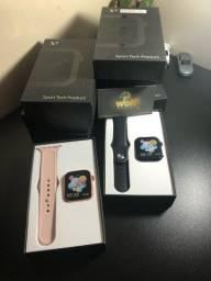 Título do anúncio: Kit atacado com 9 relógios smartwatch ( parcelado em 12 vezes sem juros no cartão )