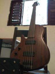 Baixo eléctrico luthier canhoto